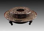 화분火盆(수홍동水红铜) 재질材质:정연동精炼铜 중량重:27678g
