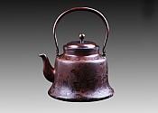 동로铜炉(참각錾刻) 재질材质:정연동精炼铜 중량重:2365g
