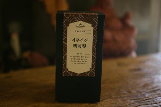 [공부차] 육대차산 04년 명전춘 커피사대 100g 노차소분