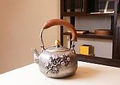 [贡福茶]手工银壶 YD-H1 1.3L