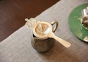 [贡福茶]手工纯银滤网