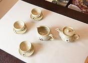 [贡福茶]务安窑 金玉洙 手工茶具套组