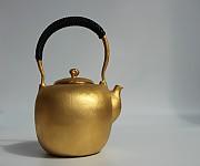 [贡福茶]全手工大壶(内外贴金)Q-AU1 1.5L
