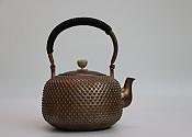 [贡福茶]手工紫铜壶TR-A1 乳钉大壶 1.3L