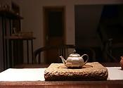 【贡福茶】手工茶盘 长/宽:25cm,高:3cm