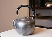 【贡福茶】一张打全手工银壶 1.3L