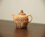 【贡福茶】手工开裂纹茶壶180cc