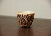 【贡福茶】手工松皮纹品茗杯