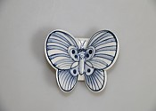 나비받침대 청색(小)