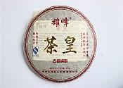 특가[영덕차업]2008년 웅봉차황 숙차 357g